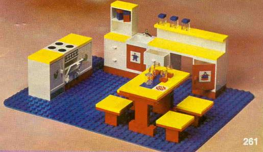Bricklink Set 261 4 Lego Complete Kitchen Set Homemaker Bricklink Reference Catalog