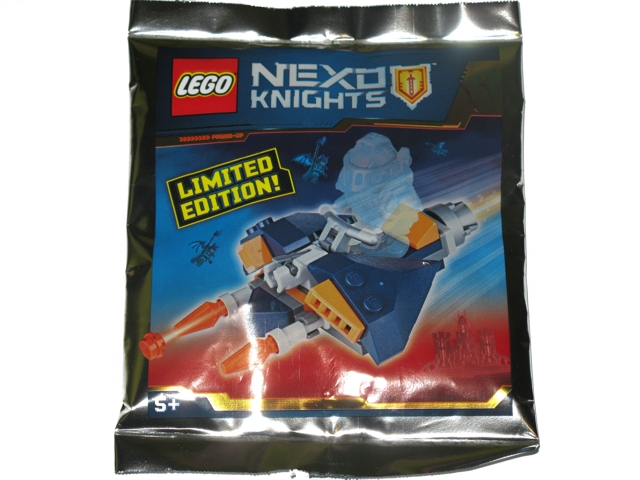 BrickLink - Set 271723-1 : Lego Hovercraft foil pack [Nexo Knights ...