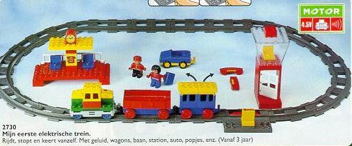 Bricklink Set 2730 1 Lego Electric Play Train Set Duploduplo