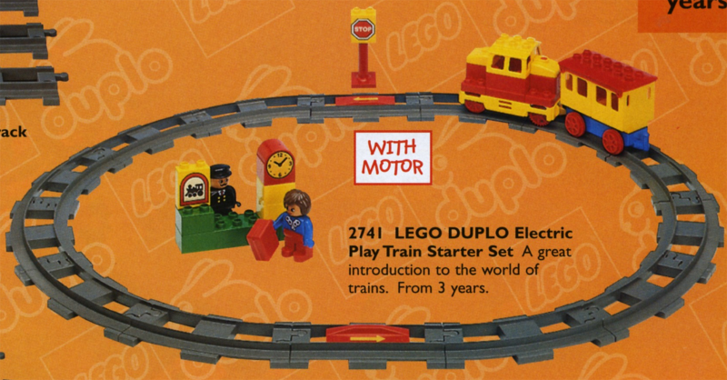 BrickLink - Set 2741-1 : Lego Electric Train Starter Set [Duplo:Duplo,  Train] - BrickLink Reference Catalog