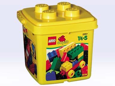 Bricklink Set 2997 1 Lego Small Bucket Duplobasic Set
