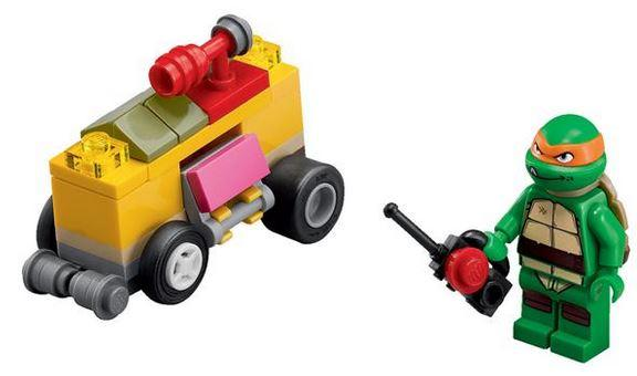 30271 Teenage Mutant Ninja Turtles Shellraiser Set Brand New Lego Polybag
