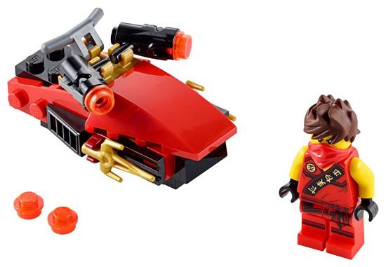 Lego Ninjago 30293 Kai/'s drifter plus minifigure brand new set poly bag