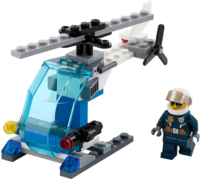 Lego City POLICE HELICOPTER Polybag 30351 city town  New and sealed