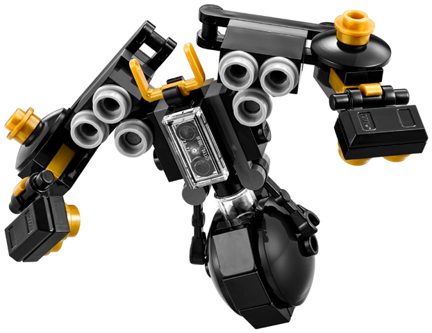 Lot of 4 NEW LEGO The Ninjago Movie Quake Mech Polybag 30379 SEALED