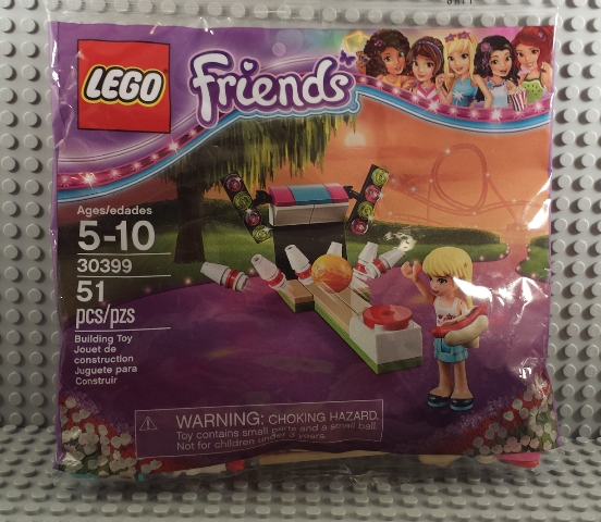 BrickLink - Set 30399-1 : Lego Bowling Alley polybag [Friends ...