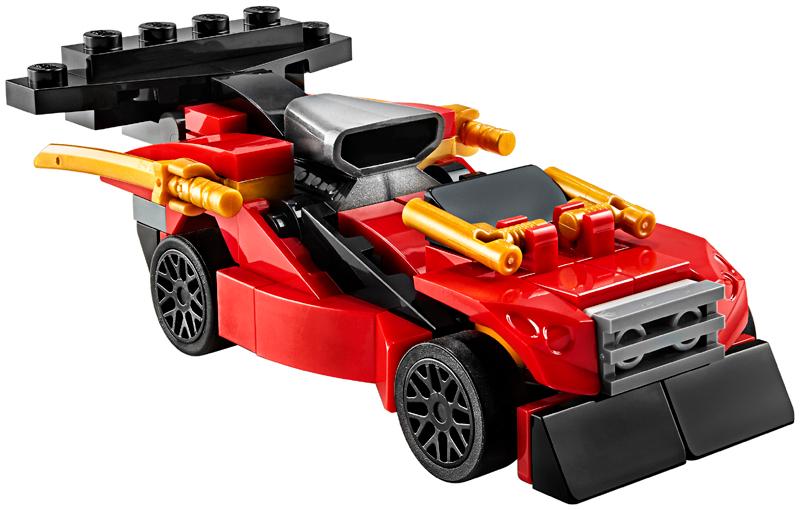 New 2020 LEGO 30536 NINJAGO LEGACY Combo Charger 71 pcs Polybag