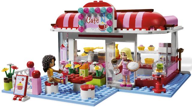 Bricklink Set 3061 1 Lego City Park Cafe City Park Caf