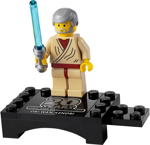 dans polybag Lego Star Wars minifigur Obi-Wan Kenobi limitée