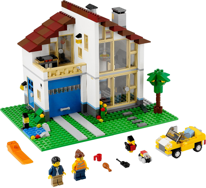 Bricklink Set 31012 1 Lego Family House Creator Model Building Bricklink Reference Catalog