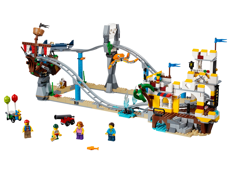 Bricklink Set 31084 1 Lego Pirate Roller Coaster Creator Model Recreation Bricklink Reference Catalog