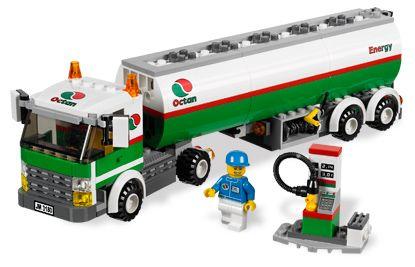 Onwijs BrickLink - Set 3180-1 : Lego Tank Truck [Town:City:Gas Station IO-86