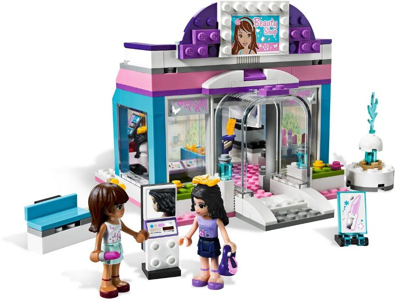 Bricklink Set 3187 1 Lego Butterfly Beauty Shop Friends