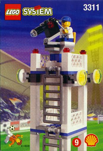 Bricklink Set 3311 1 Lego Camera Tower Sportssoccer