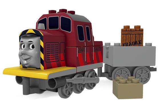 Bricklink Set 3352 1 Lego Salty The Dockyard Diesel Duploduplo