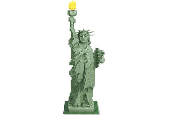 Bricklink Set 3450 1 Lego Statue Of Liberty Sculptures