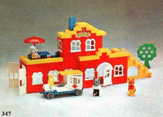 Bricklink Set 347 3 Lego Doc Davids Hospital Fabulandhospital