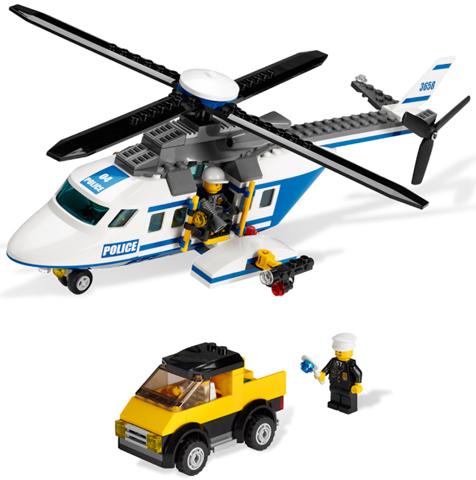 Bricklink Set 3658 1 Lego Police Helicopter Towncitypolice