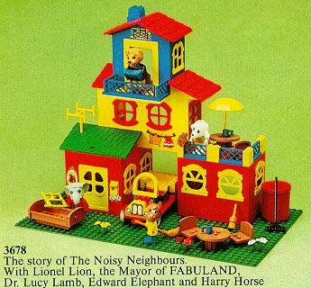 Bricklink Set 3678 1 Lego The Fabuland House Fabuland