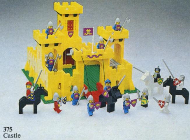 Bricklink Set 375 2 Lego Castle Castleclassic Castle