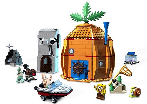 Bricklink Set 3827 1 Lego Adventures In Bikini Bottom Spongebob