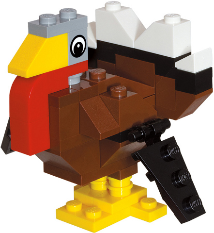 Bricklink Set 40011 1 Lego Thanksgiving Turkey Polybag Holiday