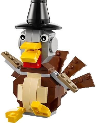 Bricklink Set 40091 1 Lego Thanksgiving Turkey Holiday Event