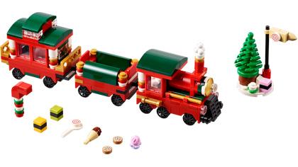 Lego Christmas Train.Bricklink Set 40138 1 Lego Christmas Train Limited