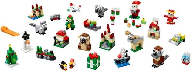Bricklink Set 40222 1 Lego Holiday Countdown Calendar Holiday