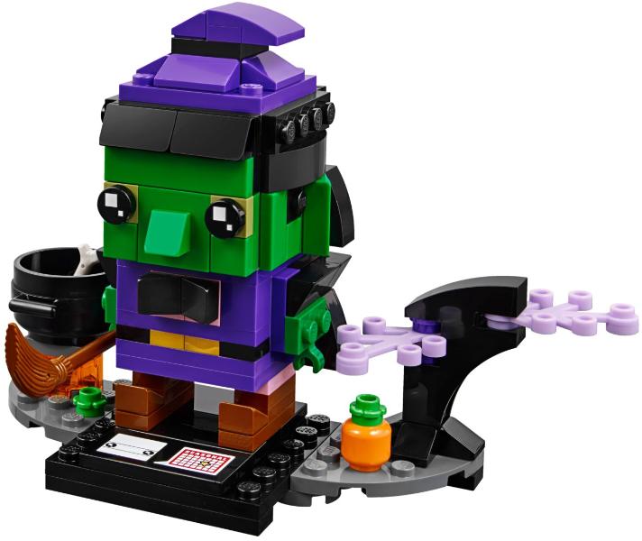 Lego 40272 Witch Halloween BrickHeadz Brand New sealed