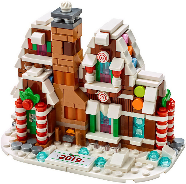 Bricklink Set 40337 1 Lego Mini Gingerbread House Holiday Event Christmas Bricklink Reference Catalog