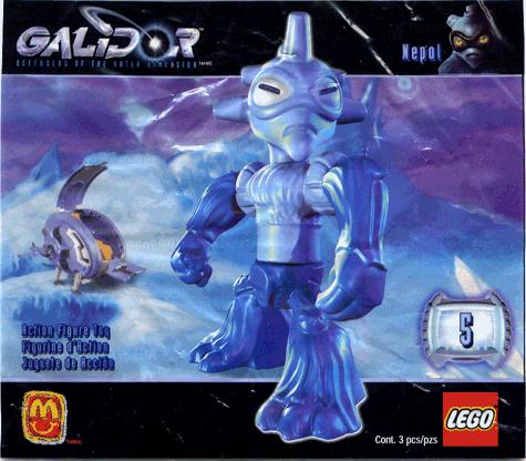 Nepol McDonalds LEGO Galidor #5 2002 McDonald/'s