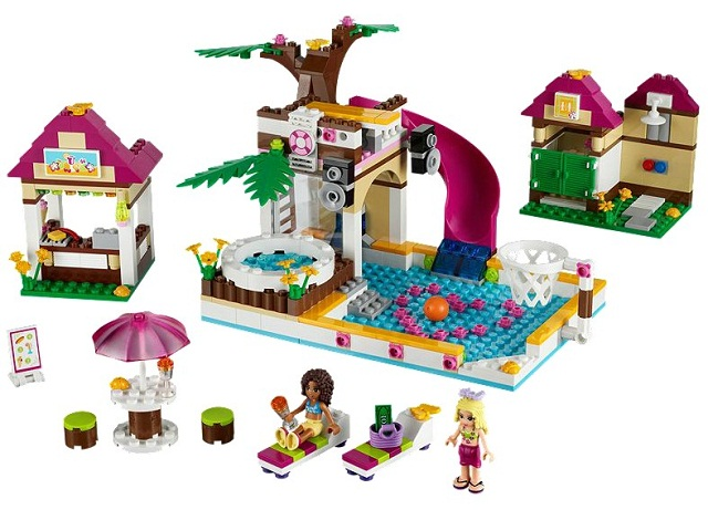 Bricklink Set 41008 1 Lego Heartlake City Pool Friends