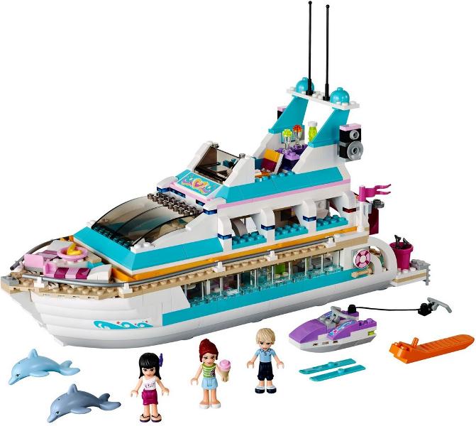 Lego INSTRUCTION MANUALS ONLY 1 /& 2 FRIENDS 41015 Dolphin Cruiser NO BRICKS