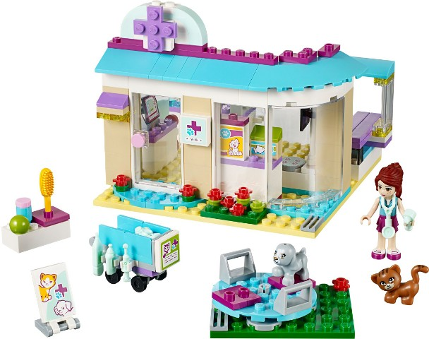 Bricklink Set 41085 1 Lego Animal Care Clinic Friends