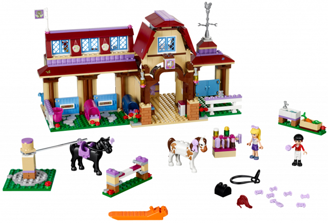 Bricklink Set 41126 1 Lego Heartlake Riding Club Friends