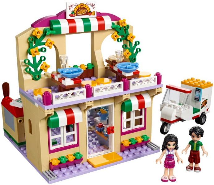 Bricklink Set 41311 1 Lego Heartlake Pizzeria Friends