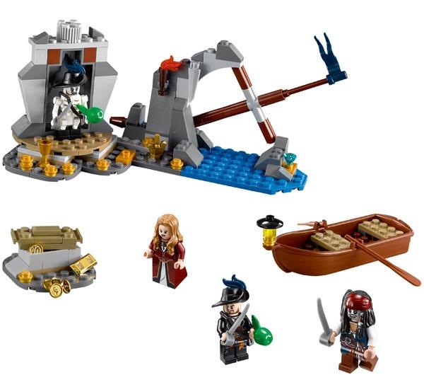 PIRATES OF THE CARIBBEAN INSTRUCTION MANUAL ONLY LEGO 4181 ISLA DE MUERTA