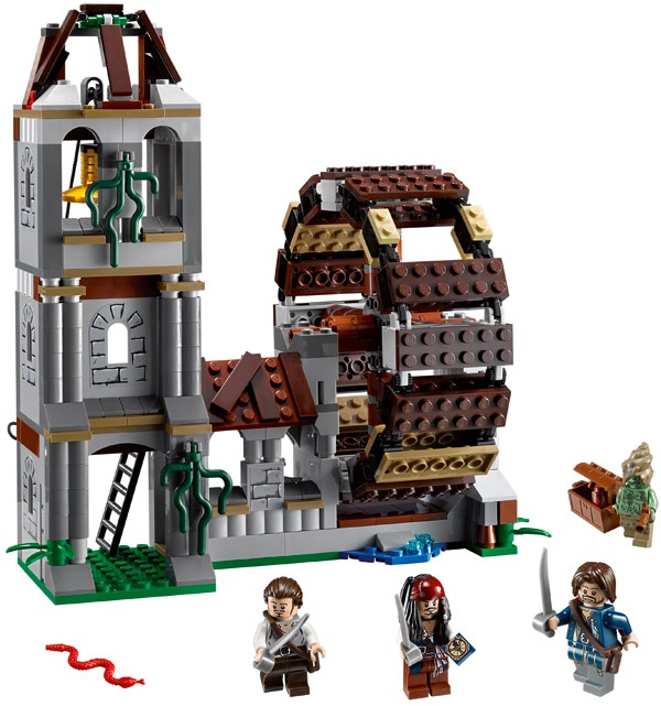 Bricklink Set 4183 1 Lego The Mill Pirates Of The Caribbean Bricklink Reference Catalog