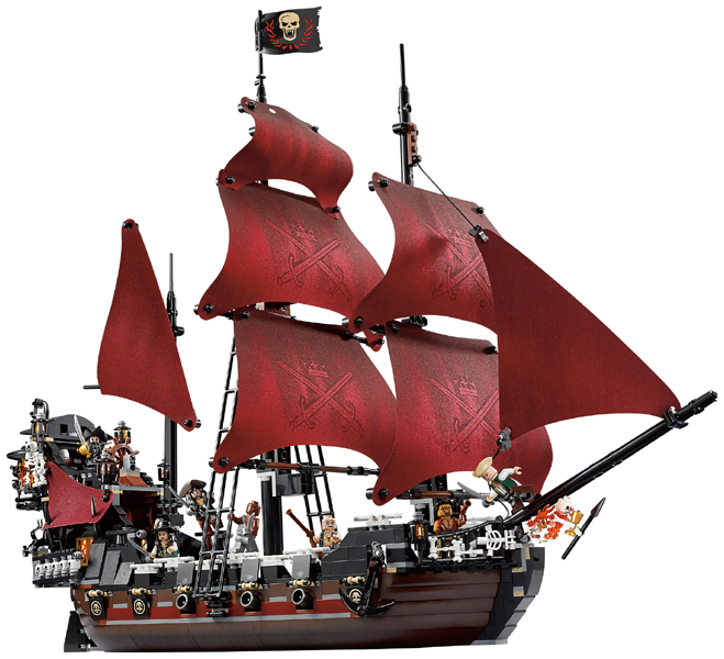 Bricklink Set 4195 1 Lego Queen Annes Revenge Pirates Of The