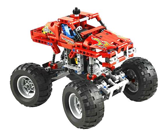 Bricklink Set 42005 1 Lego Monster Truck Technicmodeloff Road