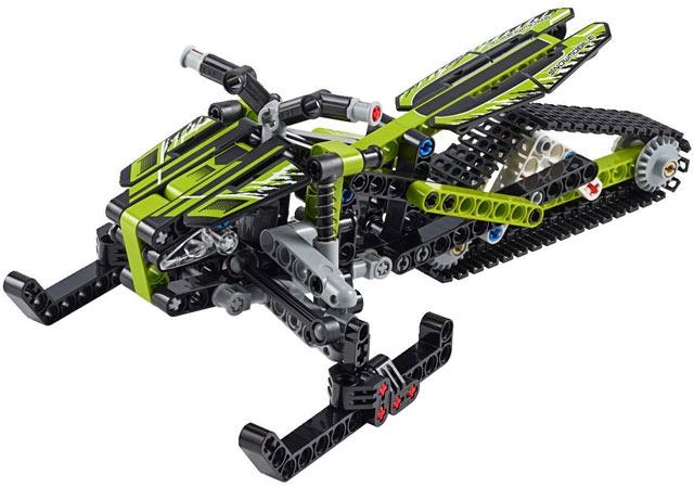 Bricklink Set 42021 1 Lego Snowmobile Technicmodeloff Road