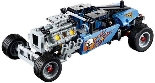 BrickLink - Set 42022-1 : Lego Hot Rod [Technic:Model:Race