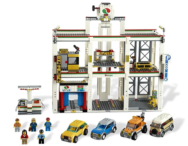 Bricklink Set 4207 1 Lego City Garage Towncitytraffic