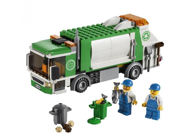 Bricklink Set 4432 1 Lego Garbage Truck Towncitytraffic