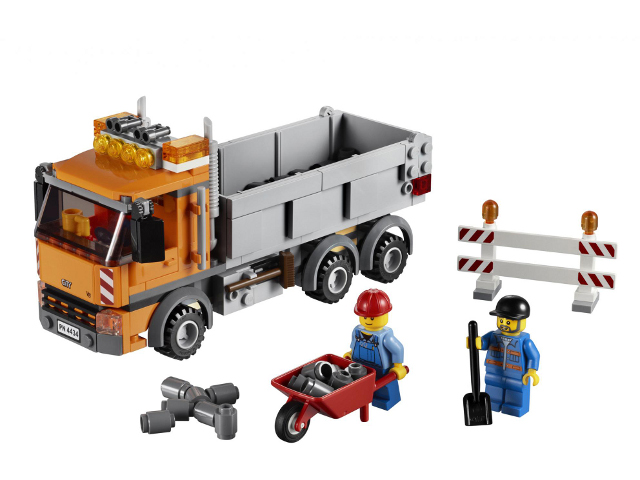 Bricklink Set 4434 1 Lego Tipper Truck Towncityconstruction