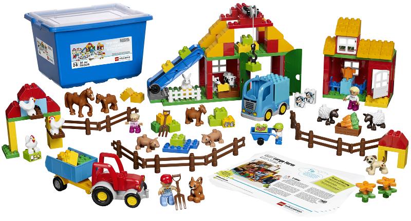 BrickLink - Set 45007-1 : Lego Large Farm [Educational & Dacta:Duplo] -  BrickLink Reference Catalog