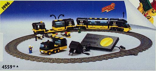 Lego 9V RC Eisenbahn TRAIN 4559 Waggon Metroliner Schlafwaggon CAR
