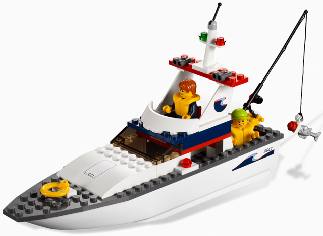 BrickLink - Set 4642-1 : Lego Fishing Boat [Town:City:Harbor