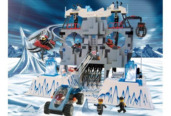 BrickLink - Set 4748-1 : Lego Ogel's Mountain Fortress [Alpha Team:Mission  Deep Freeze] - BrickLink Reference Catalog